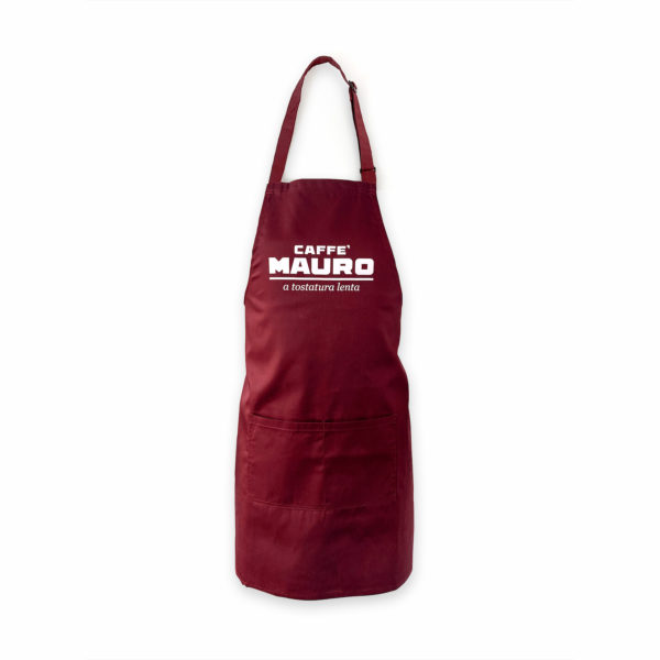 caffe mauro branded apron